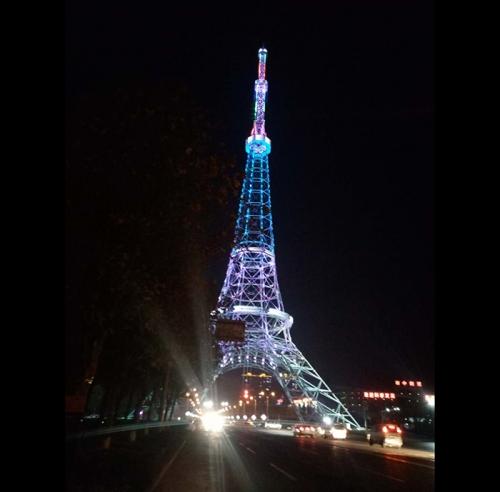 铁塔亮化工程